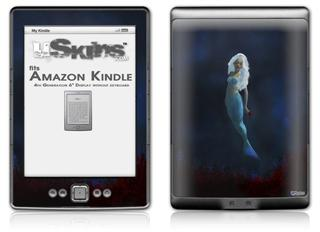 Kathy Gold - Blood Flowers - Decal Style Skin (fits 4th Gen Kindle with 6inch display and no keyboard)