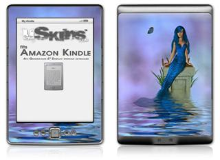Kathy Gold - Full Mergirl - Decal Style Skin (fits 4th Gen Kindle with 6inch display and no keyboard)