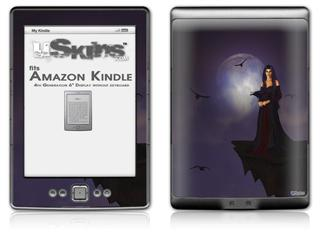 Kathy Gold - Night Of Raven 1 - Decal Style Skin (fits 4th Gen Kindle with 6inch display and no keyboard)