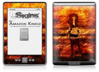 Kathy Gold - Scifi 2 - Decal Style Skin (fits 4th Gen Kindle with 6inch display and no keyboard)