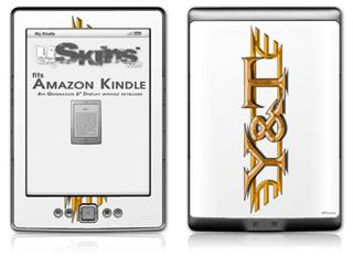 Y&T - Decal Style Skin (fits 4th Gen Kindle with 6inch display and no keyboard)