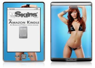 Amanda Olson 06 - Decal Style Skin (fits 4th Gen Kindle with 6inch display and no keyboard)