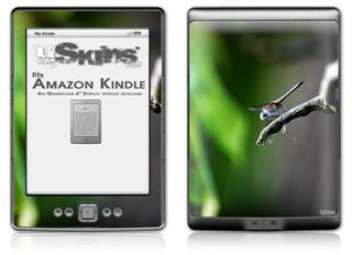 DragonFly - Decal Style Skin (fits 4th Gen Kindle with 6inch display and no keyboard)