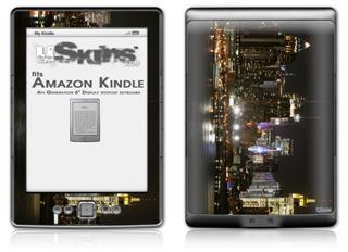 New York - Decal Style Skin (fits 4th Gen Kindle with 6inch display and no keyboard)