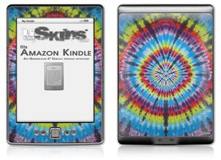 Tie Dye Swirl 100 - Decal Style Skin (fits 4th Gen Kindle with 6inch display and no keyboard)