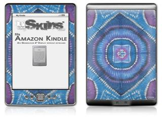 Tie Dye Circles and Squares 100 - Decal Style Skin (fits 4th Gen Kindle with 6inch display and no keyboard)