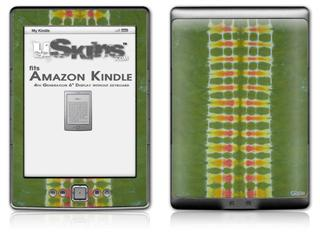 Tie Dye Spine 101 - Decal Style Skin (fits 4th Gen Kindle with 6inch display and no keyboard)