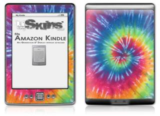 Tie Dye Swirl 104 - Decal Style Skin (fits 4th Gen Kindle with 6inch display and no keyboard)