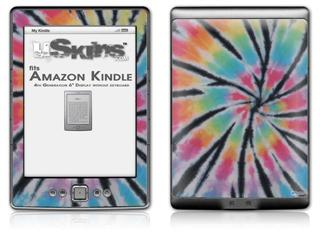 Tie Dye Swirl 109 - Decal Style Skin (fits 4th Gen Kindle with 6inch display and no keyboard)