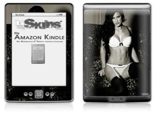 Denai Thomson Lingerie 04 - Decal Style Skin (fits 4th Gen Kindle with 6inch display and no keyboard)