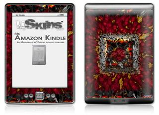 Bed Of Roses - Decal Style Skin (fits 4th Gen Kindle with 6inch display and no keyboard)