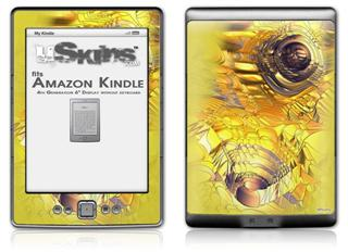 Golden Breasts - Decal Style Skin (fits 4th Gen Kindle with 6inch display and no keyboard)