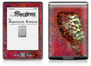 Sirocco - Decal Style Skin (fits 4th Gen Kindle with 6inch display and no keyboard)