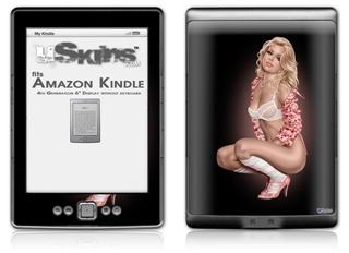 Felicity Pin Up Girl - Decal Style Skin (fits 4th Gen Kindle with 6inch display and no keyboard)