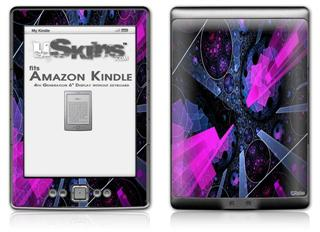 Powergem - Decal Style Skin (fits 4th Gen Kindle with 6inch display and no keyboard)