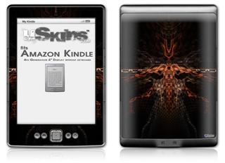 Ramskull - Decal Style Skin (fits 4th Gen Kindle with 6inch display and no keyboard)
