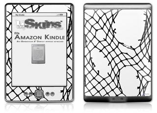 Ripped Fishnets - Decal Style Skin (fits 4th Gen Kindle with 6inch display and no keyboard)