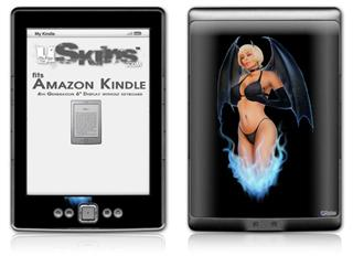 Earthly Possesion - Decal Style Skin (fits 4th Gen Kindle with 6inch display and no keyboard)