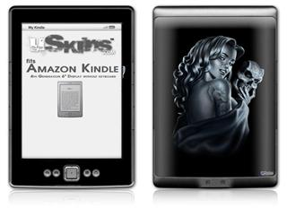 Two Face - Decal Style Skin (fits 4th Gen Kindle with 6inch display and no keyboard)