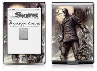Creation - Decal Style Skin (fits 4th Gen Kindle with 6inch display and no keyboard)