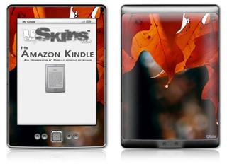 Fall Oranges - Decal Style Skin (fits 4th Gen Kindle with 6inch display and no keyboard)