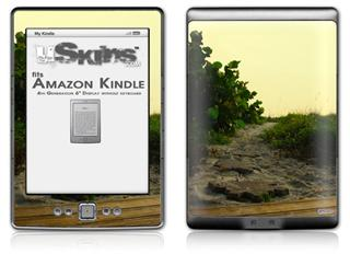 Paths - Decal Style Skin (fits 4th Gen Kindle with 6inch display and no keyboard)