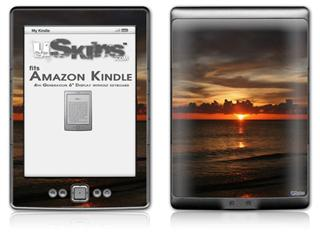 Set Fire To The Sky - Decal Style Skin (fits 4th Gen Kindle with 6inch display and no keyboard)