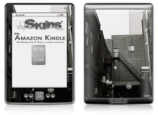 Urban Detail - Decal Style Skin (fits 4th Gen Kindle with 6inch display and no keyboard)