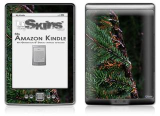 Woodland - Decal Style Skin (fits 4th Gen Kindle with 6inch display and no keyboard)