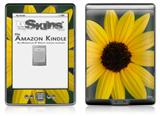 Yellow Daisy - Decal Style Skin (fits 4th Gen Kindle with 6inch display and no keyboard)