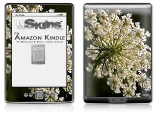 Blossoms - Decal Style Skin (fits 4th Gen Kindle with 6inch display and no keyboard)