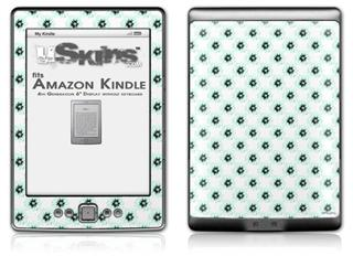 Kearas Daisies Diffuse Glow - Decal Style Skin (fits 4th Gen Kindle with 6inch display and no keyboard)