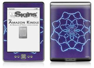 Tie Dye Purple Stars - Decal Style Skin (fits 4th Gen Kindle with 6inch display and no keyboard)