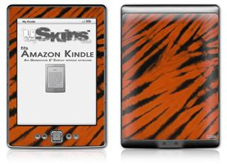 Tie Dye Bengal Side Stripes - Decal Style Skin (fits 4th Gen Kindle with 6inch display and no keyboard)
