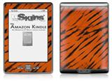 Tie Dye Bengal Belly Stripes - Decal Style Skin (fits 4th Gen Kindle with 6inch display and no keyboard)
