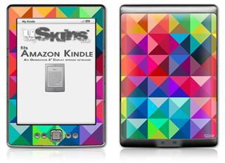 Spectrums - Decal Style Skin (fits 4th Gen Kindle with 6inch display and no keyboard)