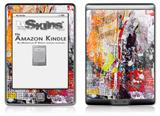 Abstract Graffiti - Decal Style Skin (fits 4th Gen Kindle with 6inch display and no keyboard)