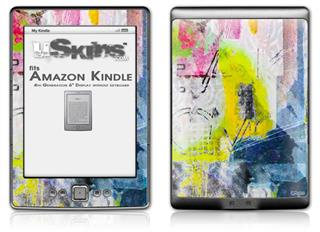 Graffiti Graphic - Decal Style Skin (fits 4th Gen Kindle with 6inch display and no keyboard)