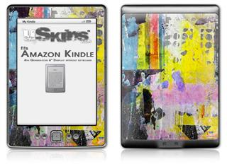 Graffiti Pop - Decal Style Skin (fits 4th Gen Kindle with 6inch display and no keyboard)