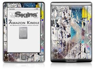 Urban Graffiti - Decal Style Skin (fits 4th Gen Kindle with 6inch display and no keyboard)