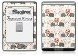 Elephant Love - Decal Style Skin (fits 4th Gen Kindle with 6inch display and no keyboard)