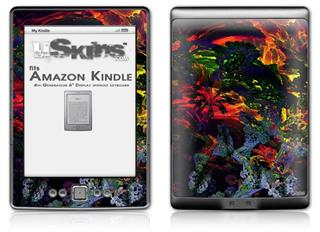 6D - Decal Style Skin (fits 4th Gen Kindle with 6inch display and no keyboard)