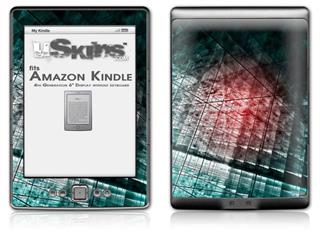 Crystal - Decal Style Skin (fits 4th Gen Kindle with 6inch display and no keyboard)