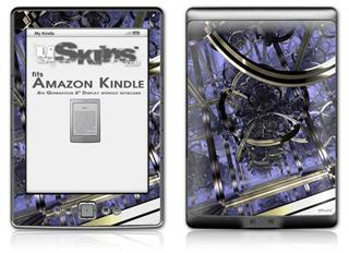 Gyro Lattice - Decal Style Skin (fits 4th Gen Kindle with 6inch display and no keyboard)