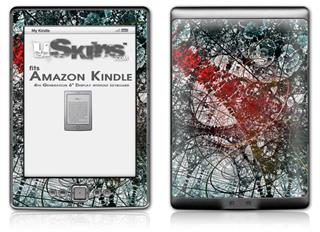 Tissue - Decal Style Skin (fits 4th Gen Kindle with 6inch display and no keyboard)