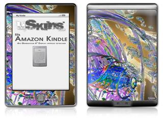 Vortices - Decal Style Skin (fits 4th Gen Kindle with 6inch display and no keyboard)