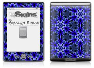 Daisy Blue - Decal Style Skin (fits 4th Gen Kindle with 6inch display and no keyboard)