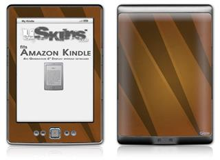 VintageID 25 Brown - Decal Style Skin (fits 4th Gen Kindle with 6inch display and no keyboard)