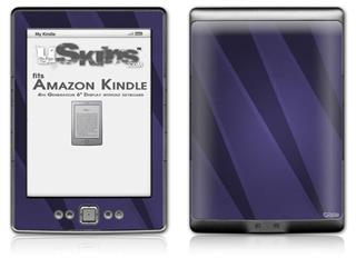 VintageID 25 Purple - Decal Style Skin (fits 4th Gen Kindle with 6inch display and no keyboard)