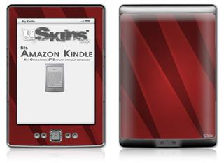 VintageID 25 Red - Decal Style Skin (fits 4th Gen Kindle with 6inch display and no keyboard)